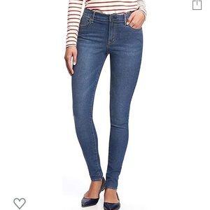 NWOTOld Navy Super Skinny Jean Medium Wash Size 10
